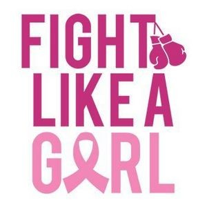 Breast Cancer: Fight Like a Girl Temporary Tattoo